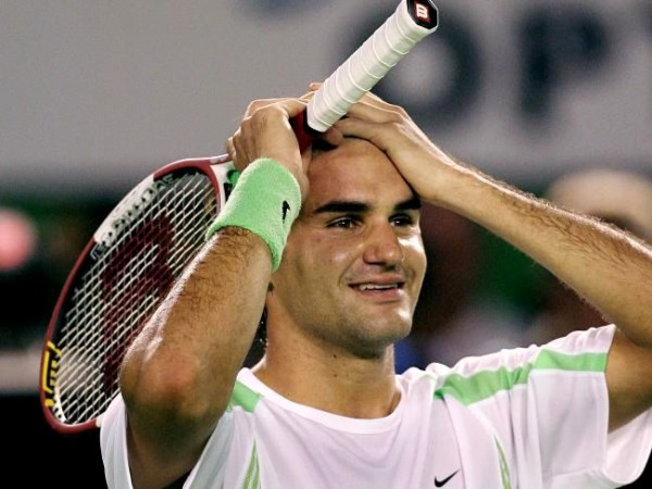 roger federer charging to semi finals 2016 australian open images