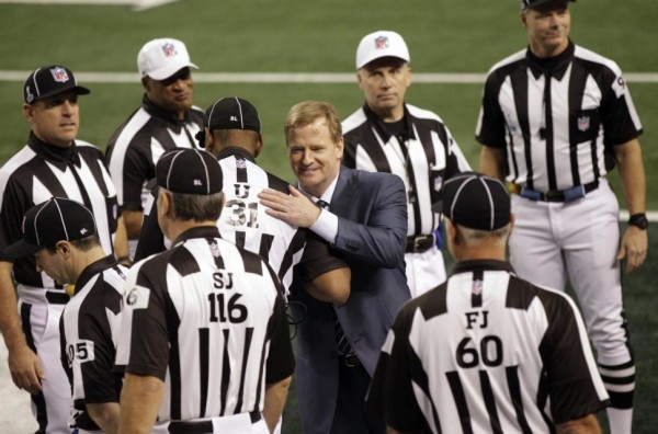 roger goodell referee super bowl problem 2016