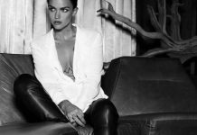 ruby rose goes from orange is the new black jumper for ralph lauren