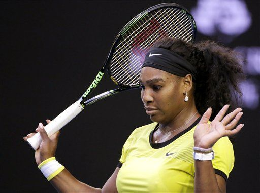 Serena Williams out of australian open