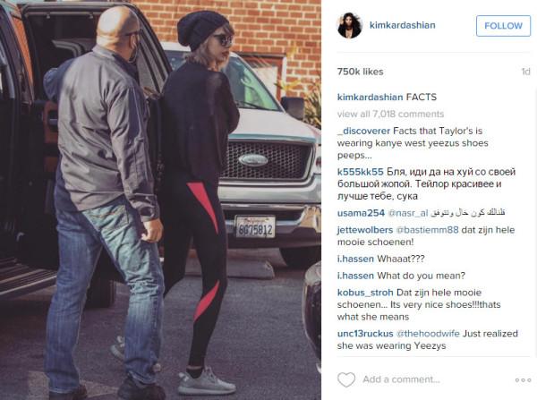 taylor swift yeezy shoes 2015 gossip