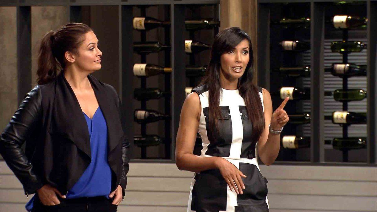 """On this week's episode of """"Top Chef California,"""" Antonia Lofaso, a former contestant on the show, was brought in to be the guest judge for the quickfire challenge. Padma announced each of the 10 remaining chefs could choose one in ingredient and then every chef had to make their own dish using those ingredients. Each chef had 20 seconds to get their ingredient of choice. Carl said he liked cooking with a small pantry of ingredients available. He said he would concentrate on the flavor and execution of his dish. Isaac said he wanted to make sure the flavors he used worked well together. The chefs presented their dishes to Padma and Antonia. Padma asked Antonia to announce their least favorite dishes and she said Isaac's dish was underwhelming and Karen's dish wasn't focused enough. Antonia said Jeremy made on of her favorite dishes and Amar's dish showed good technique. Antonia then announced that the winner of the quickfire challenge was Jeremy. For the elimination challenge Padma announced it was the tenth anniversary of Top Chef so the chefs had to create a dish that told them what the chef's life was like 10 years ago. After the chefs shopped for their elimination challenge ingredients they went to the rooftop of their Los Angeles hotel. They arrived to a cookout complete with beer and wine. While the chefs were preparing their elimination challenge dishes Tom and Top Chef winner Michael Voltaggio came in to watch them cook. They talked to a few of the chefs and then left them alone. Distracted by memories of who he was 10 years ago Kwame cut his finger while preparing his dish. Ten accomplished chefs, including Padma and Tom, where there for dinner to taste the elimination challenge dishes. After each chef presented their dish, Tom called Jason's dish a letdown. Tom said Kwame's dish was confusing and another judge said it didn't look appealing. Kwame admitted this wasn't his best dish ever. At the judge's table, Marjorie, Chad and Carl were told by Padma that t"""