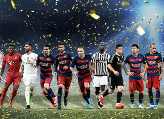 uefa 2015 team of the year 2016 images