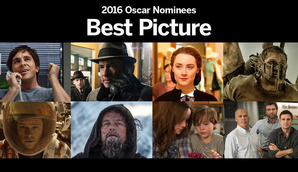 7 2016 oscar nominated best picture movies