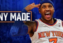 Carmelo Anthony knocks down New York Knicks trade rumors 2016 images