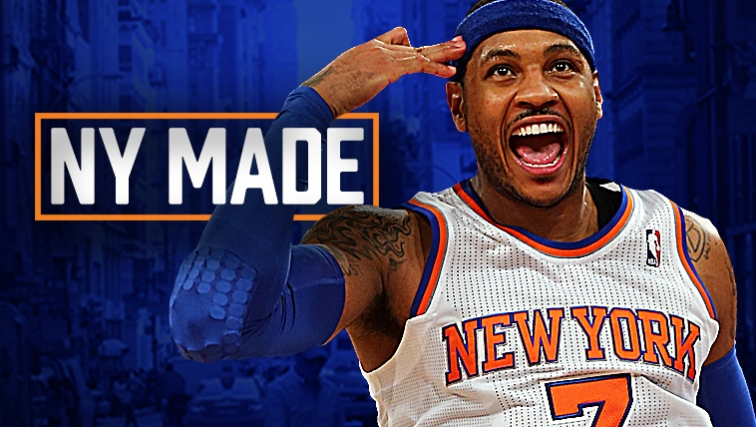 Carmelo Anthony knocks down New York Knicks trade rumors 2016 images