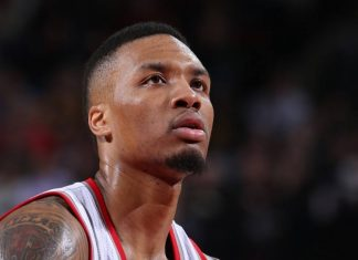 Damian Lillard works out some steph curry anger with all star snub 2016 images
