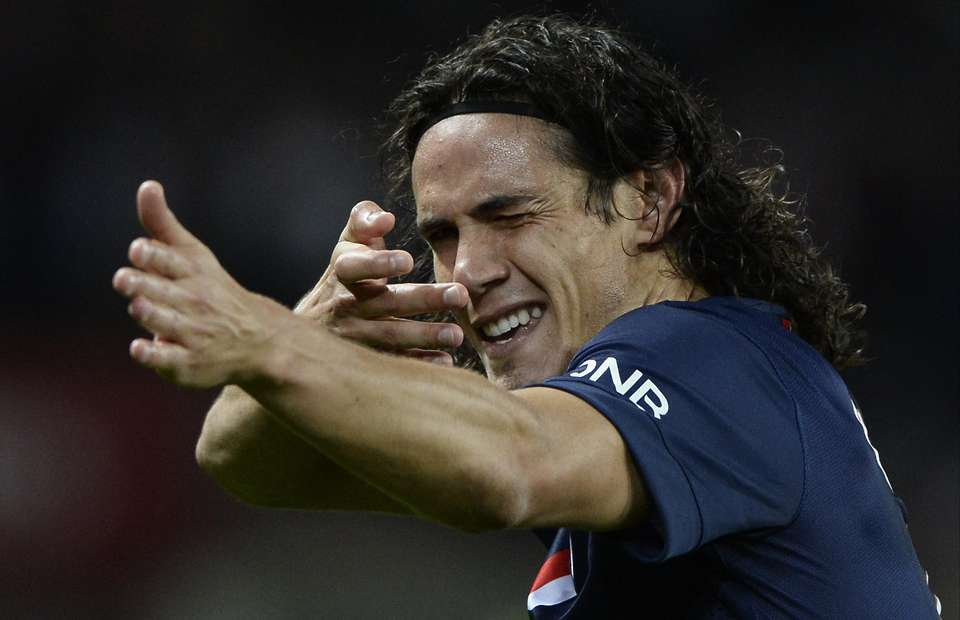 Edinson Cavani should play for Manchester United or Real Madrid 2016 images