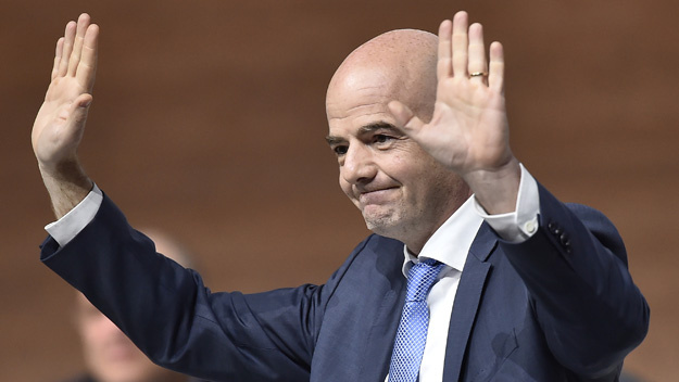 gianni infantino elected as new FIFA president 2016 images
