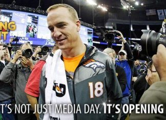 Super Bowl Media Day Humor Distracts Fans 2016 images