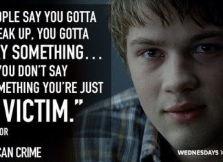 american crime taylor quote