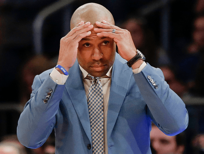 NBA News Knicks' Derek Fisher latest coaching casualty 2016 images