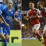 arsenal taking on leicester city soccer