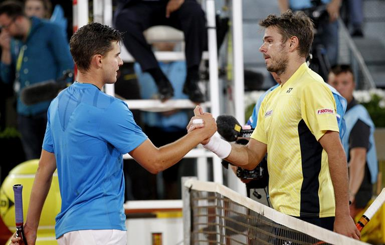 atp recap stan wawrinka and dominic thiems winning ways 2016 images