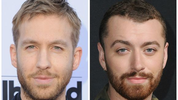 calvin harris thumbs up sam smith weight loss 2016 gossip