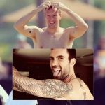 chris martin with adam levine shirtless empire