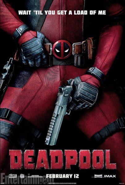 deadpool movie poster 2016