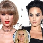 Demi Lovato not feeling Taylor Swift Kesha Love & Kim Kardashian unveils her Saint West