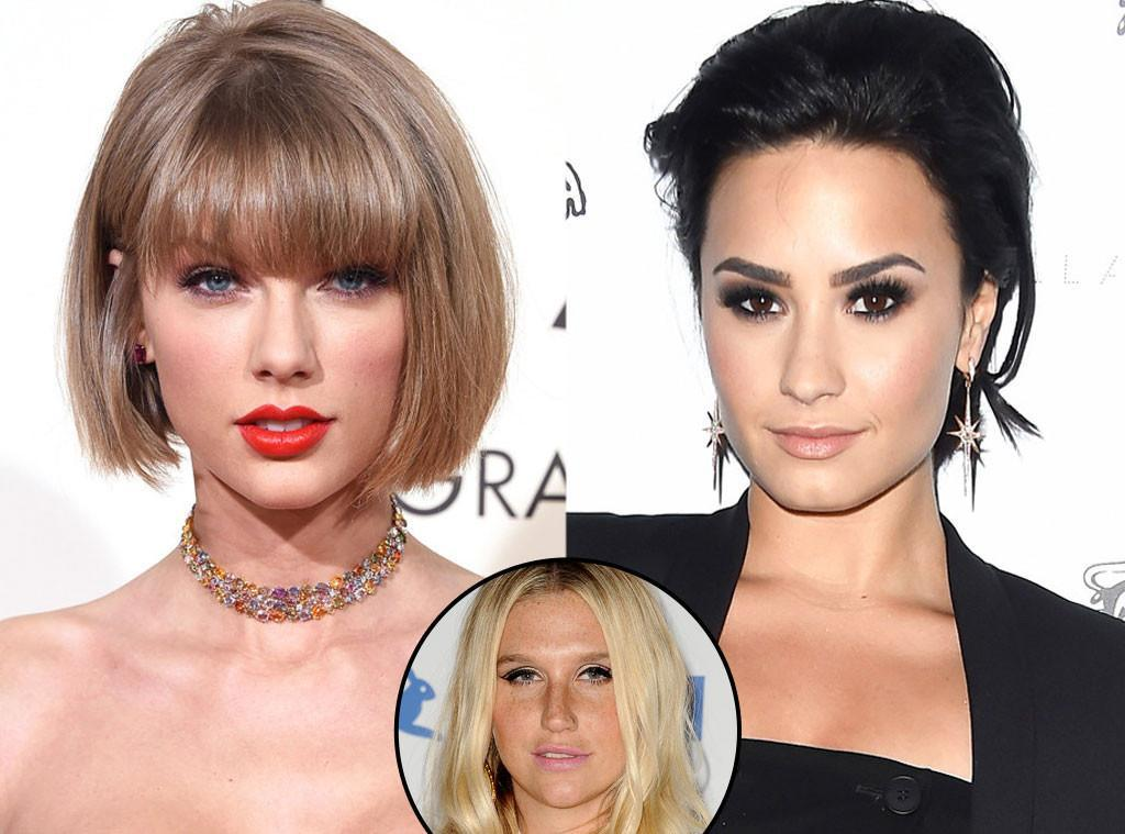 demi lovato not feeling taylor swift kesha love 2016 gossip