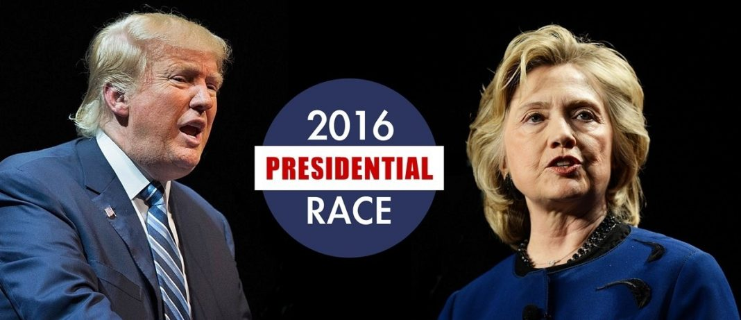 donald trump & hillary clinton leading the south for 2016 images