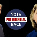 Donald Trump & Hillary Clinton leading the South for 2016
