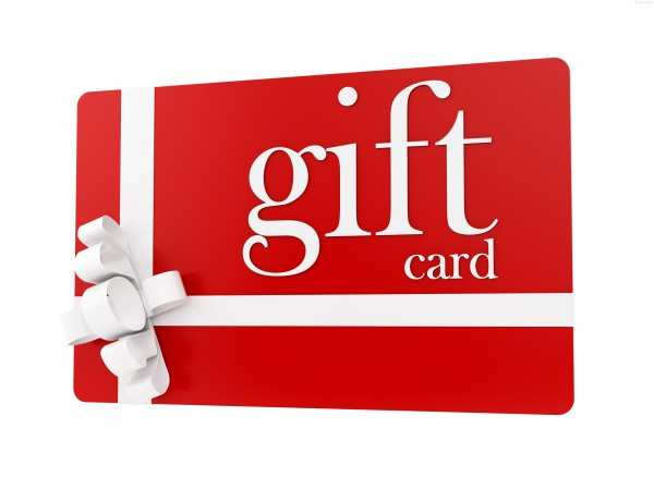 gift card valentines day