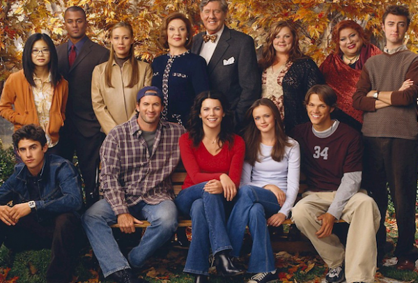gilmore girls onset photo