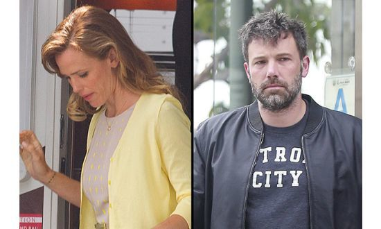 jennifer garner ben affleck divorce talk