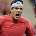 Juan Martin del Potro Returning at ATP Delray Beach