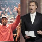 kanye west loving up will ferrell 2016 gossip