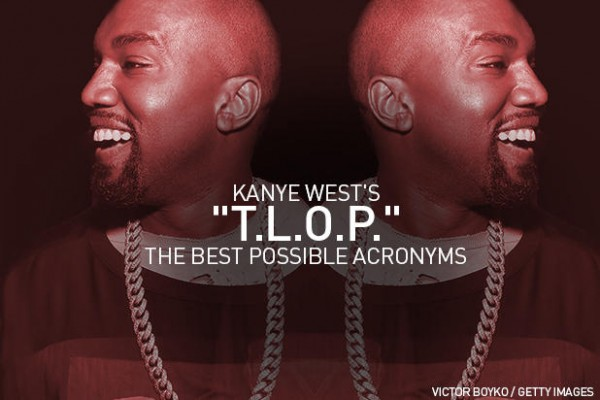 kanye west waves to tlop 2016 gossip