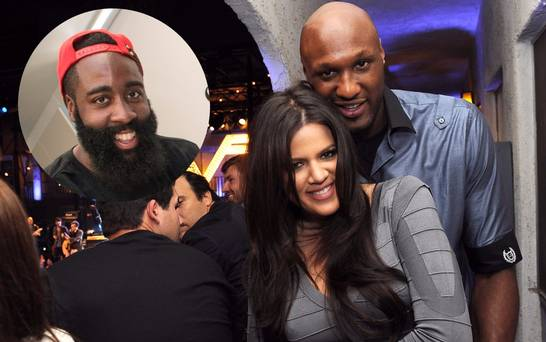 khloe kardashian knocks james harden out brings lamar odom back in 2016 gossip