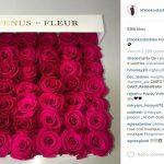 khloe kardashian valentines day flowers 2016