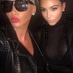 kim kardashian tea with amber rose 2016 gossip