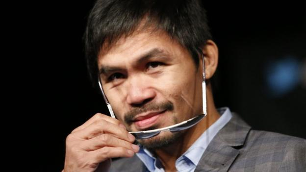 manny pacquiao learns to either shut up or say only politically correct things 2016 images