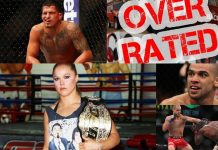 most overrated mma fighters of 2015 & 2016