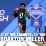 2016 NFL Combine Running Favorites
