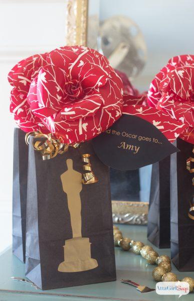 oscar party gift bags 2016