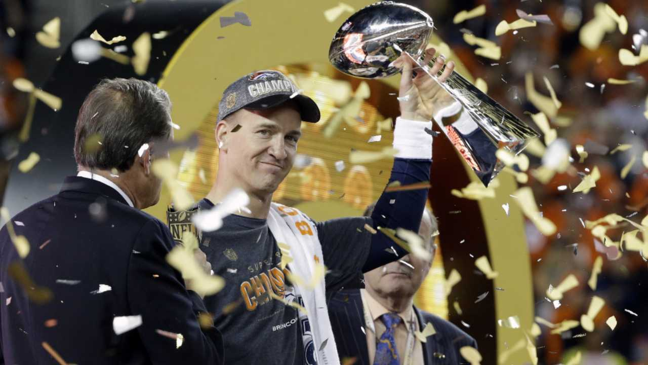 Peyton Manning Rides Off Into the Sunset as Denver Broncos Win Super Bowl 50 2016 images