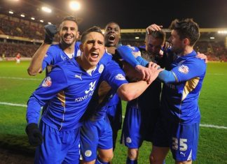 premier league game week 25 soccer review theres no stopping leicester 2016 images
