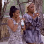 real housewives of atlanta 814 nene leakes kim fields shoot