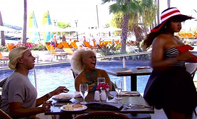 real housewives of atlanta phaedra colors read with nene leakes kim fields