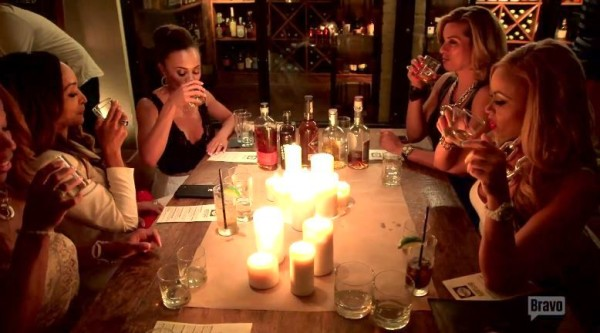 real housewives of potomac 103 whiskey dinner