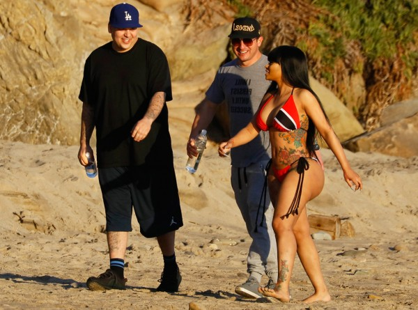 rob kardashian with blac chyna shoot 2016 gossip