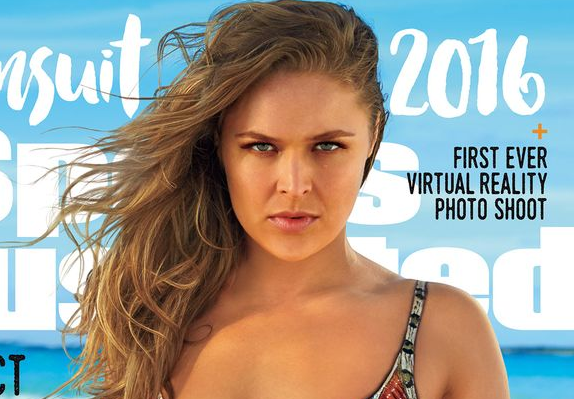 ronda rousey goes deep down for ellen 2016 images