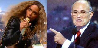 rudy giuliani not hot on beyonces black power 2016 gossip