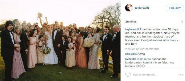 taylor swift wedding 2016