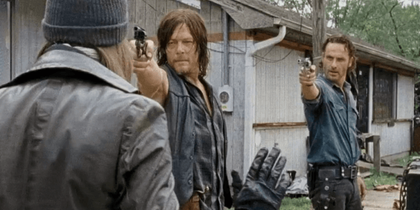 the walking dead 610 next world daryl rick with jesus 2016