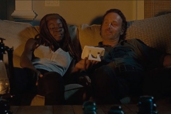 the walking dead 610 richonne comes to life