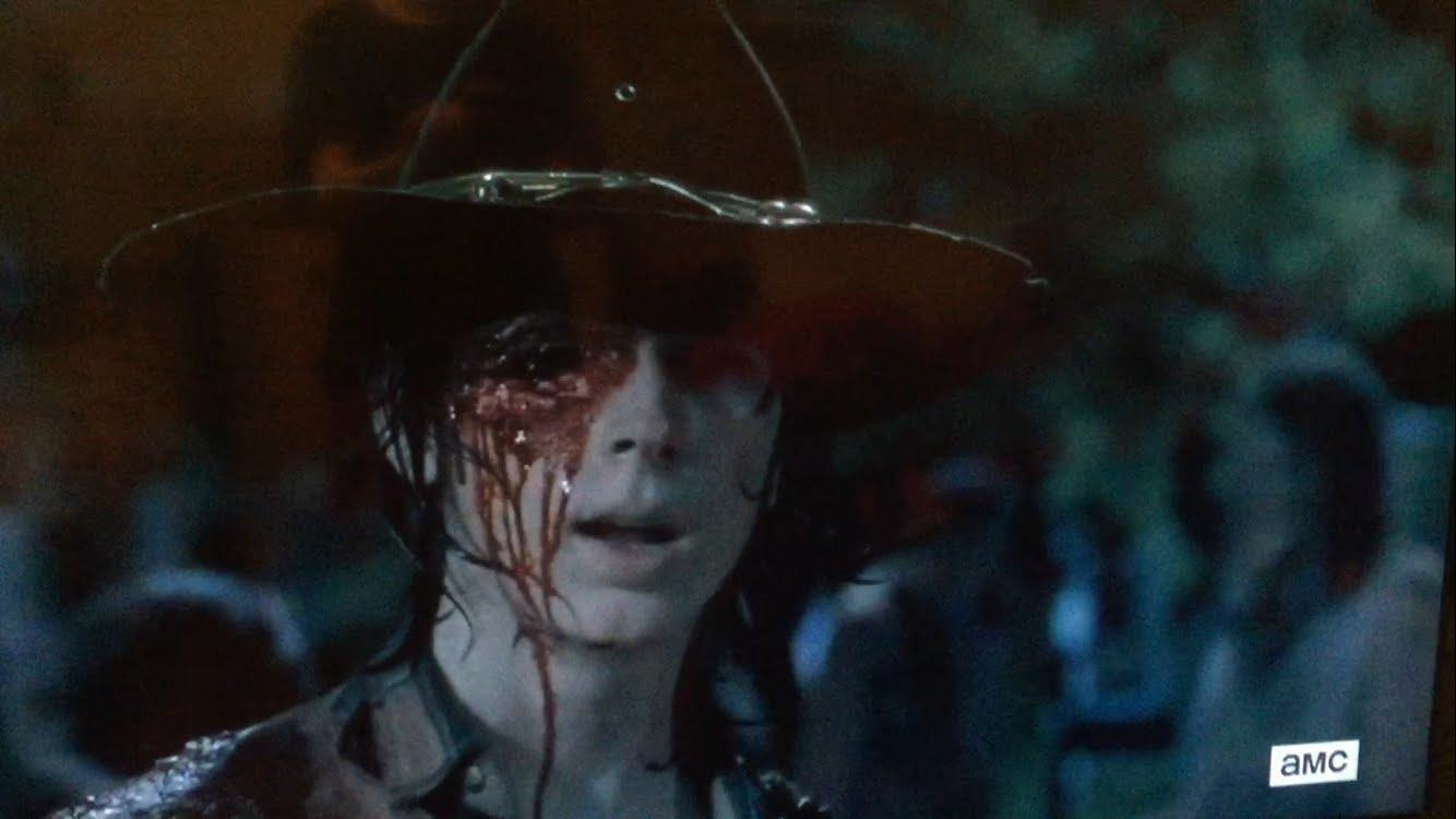 the walking dead carl grimes lost eye 2016 gossip